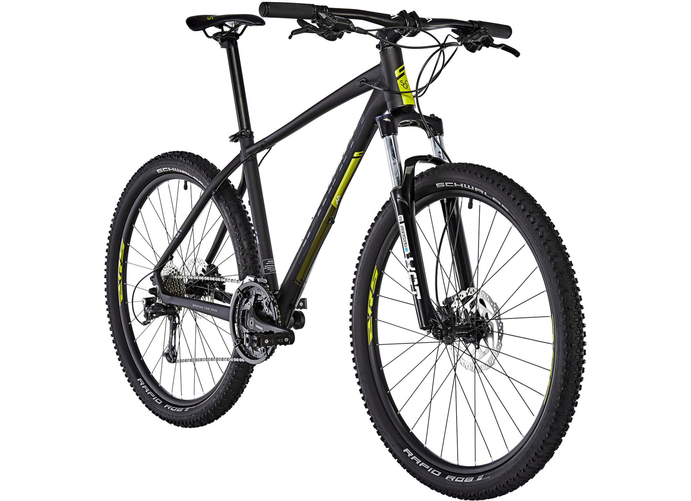 Serious Shoreline MTB Hardtail 27,5 sort | Find cykeltilbehør på nettet | Bikester.dk